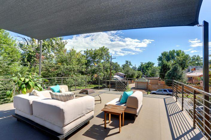 Alcott Garage Rooftop Interior Designer Denver Co