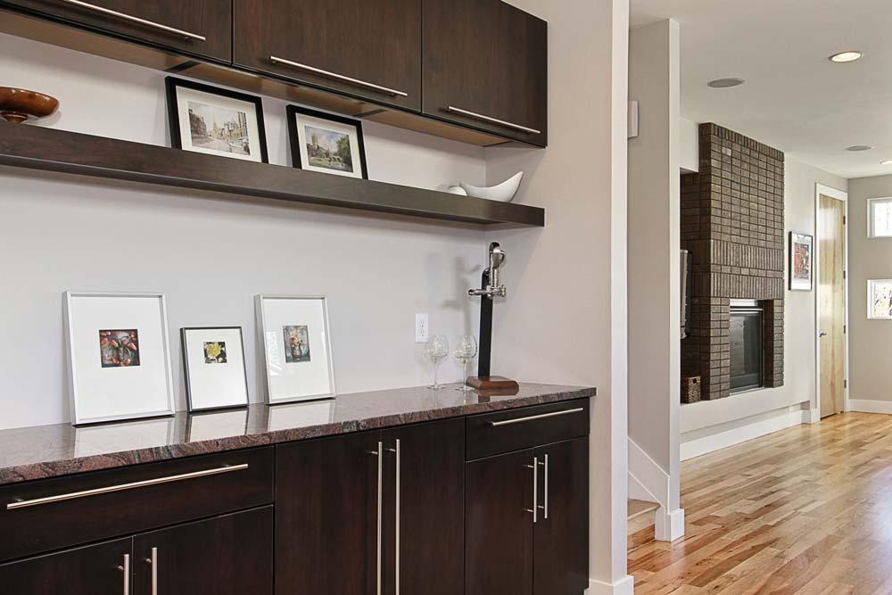 grant st dining area built in interior designer denver co