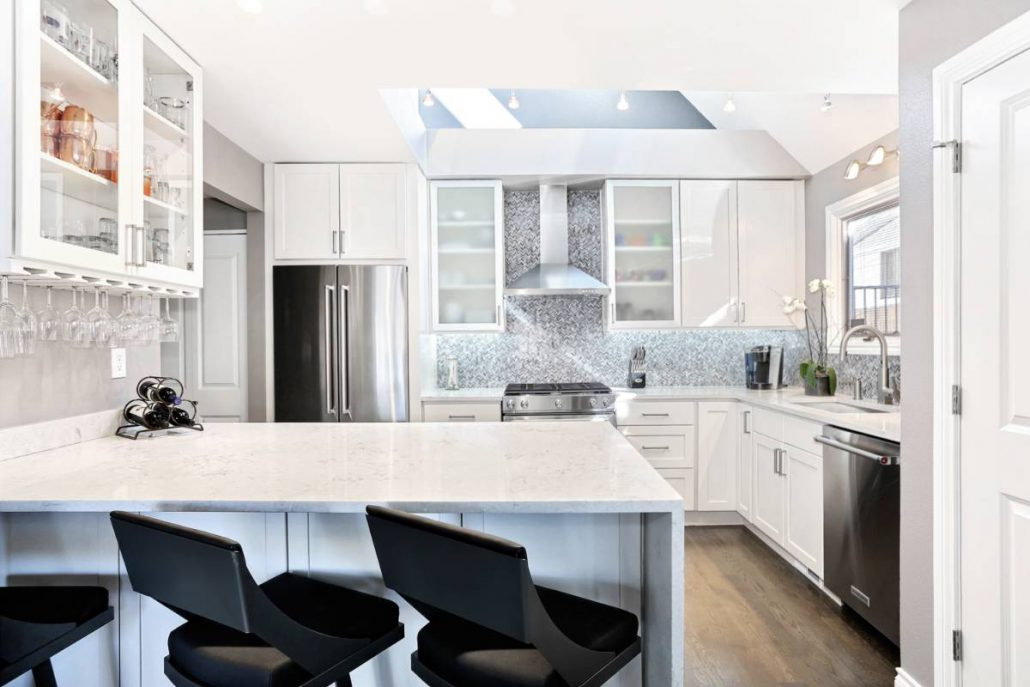 Hudson Kitchen and Fireplace Remodel - Interior Designer Denver CO