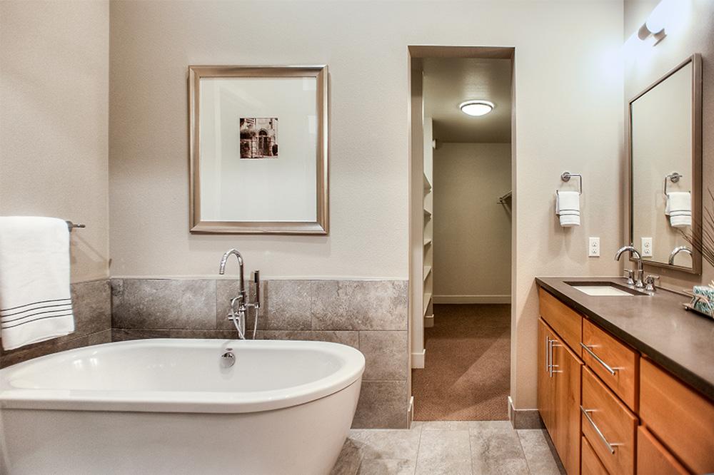 Cherry way master bathroom interior designer denver co for 3 way bathroom designs