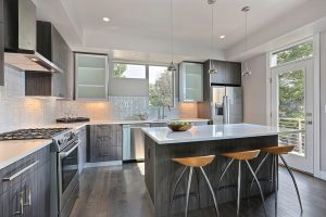 Townhome Transitional Kitchen