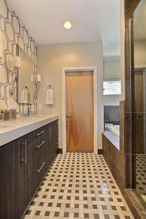 Wolfe Master Bathroom Interior Designer Denver Co