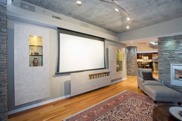 Penthouse Living Room Interior Designer Denver Co