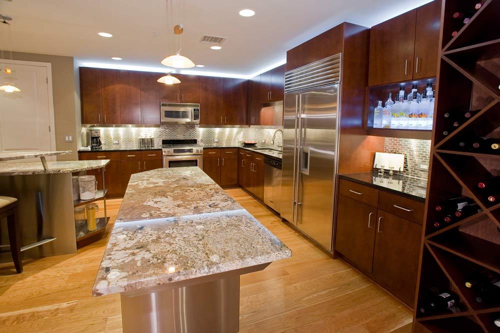 Penthouse Kitchen Remodel Interior Designer Denver Co