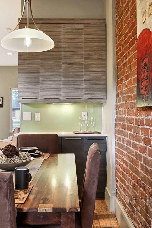 Lafayette Modern Duplex Kitchen Interior Designer Denver Co