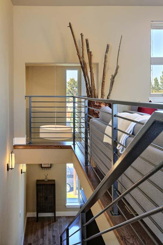 Greager contemporary townhome interior designer denver co for Interior design denver