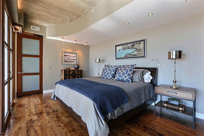 Penthouse Master Bedroom - Interior Designer Denver CO