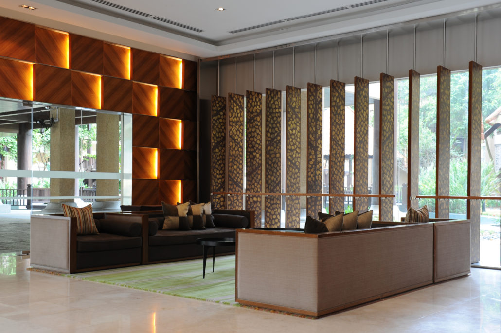 Hot flooring trends in hospitality interior design top for Hotel lobby design trends